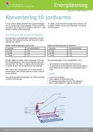 Konvertering til jordvarme - Videncenter for energibesparelser i ...