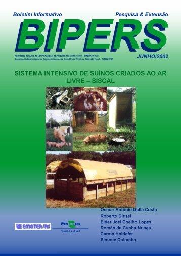 sistema intensivo de suínos criados ao ar livre – siscal - Embrapa ...