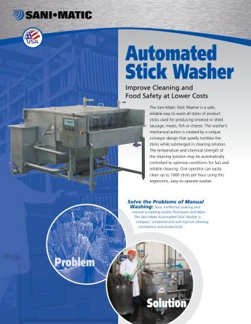 Automated Stick Washer