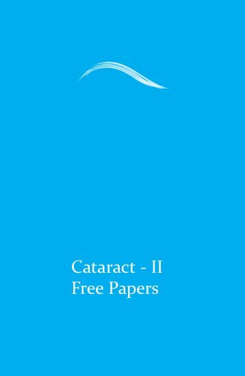 Cataract - II Free Papers - aioseducation