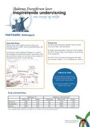 Faktaark om solfanger - Energitjenesten