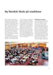 Ny Nordisk Skole på roadshow - Friskolebladet.dk