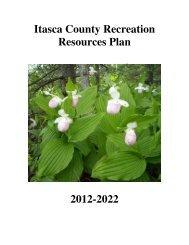 Recreation Plan 2012-2022 Final Draft - Itasca County