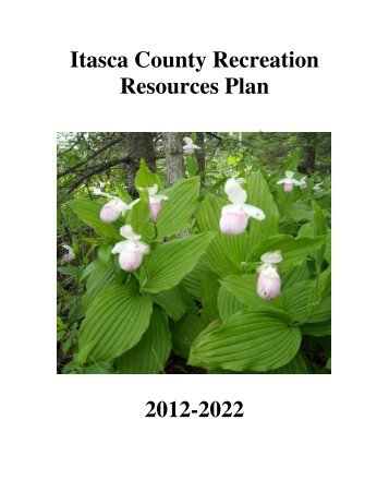 Recreation Plan 2012-2022 Final Draft - Itasca County