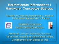 05 Hardware Unidad Central de Proceso.pdf - Facultad de Ciencias ...