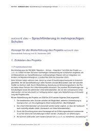 Konzept zur Weiterführung des Projekts (zweites sims ... - NW EDK