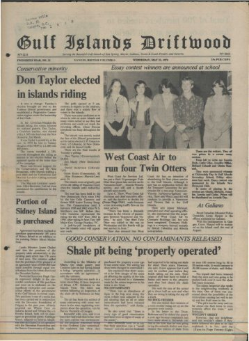 (glllf - Salt Spring Island Archives