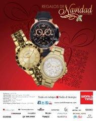 Catálogo de Navidad 2012 - World Time Store