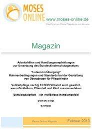 Moses Online Magazin - Ausgabe Februar 2013