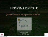 MEDICINA DIGITALE - Fondazione Rosselli