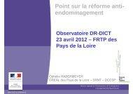 Présentation 23/04/2012 - DREAL des Pays de la Loire