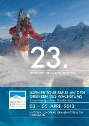 pdf mit Referenten & Themen des 23. TFA 2013 zur ... - Grischconsulta