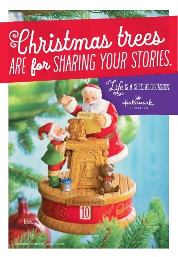 Christmas trees Are sharing your stories. for - Hallmark