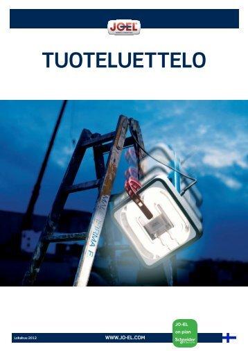TUOTELUETTELO - JO-EL