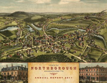 2011 Annual Report - Town of Northborough