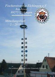 MtBl. 02 - Informationen über den Fischereiverein Elchingen
