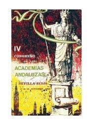 IV Congreso - Instituto de Academias de Andalucía