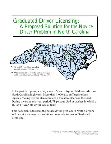 an analysis of the graduated driver licence law Graduated driver licensing have adopted graduated driver licensing (gdl) laws for teen drivers and a full-privilege driver's license.