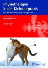 Sonntag: Physiotherapie in der Kleintierpraxis