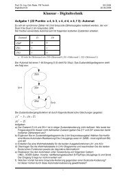 Klausur SS08 - Technik