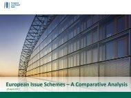 European Issue Schemes – A Comparative Analysis - EIB Institute ...
