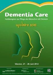Programmheft - Demenz-Service NRW