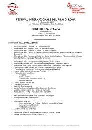 Scarica la cartella stampa della settima edizione del Festival