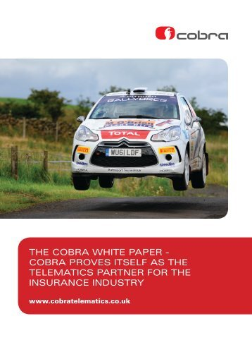 Download a copy of our White paper on our rally car proven ...