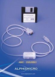 AMC-232USB01 Datasheet - Alpha Micro Components