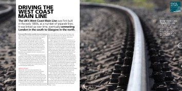 DRIVING THE WEST COAST MAIN LINE - Atkins