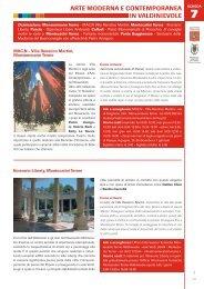 7 Arte moderna e contemporanea in Valdinievole - Provincia di Pistoia