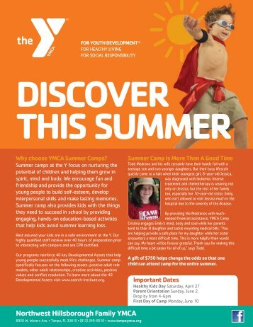 summer camp programs - Ymca