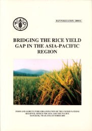 Bridging the Rice Yield Gap in the Asia-Pacific Region