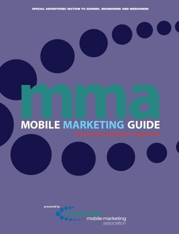 Annual Guide - Mobile Marketing Association