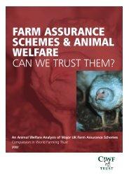 Farm Assurance Schemes & Animal Welfare - Compassion in World ...
