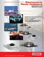 Solutions in Energy Absorption and Vibration Isolation. - PW Romex