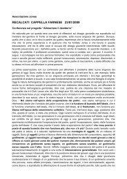 relazione del prof. Massimo Recalcati - Scuole Maestre Pie