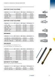 Adaptere, forlængere og diverse tilbehør til kernebor - Carat Tools
