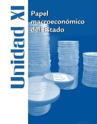 Papel macroeconómico del Estado Papel macroeconómico del Estado