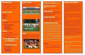 additional information - Missouri Valley College
