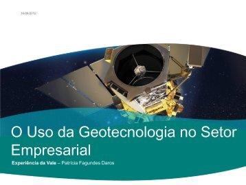 O Uso da Geotecnologia no Setor Empresarial