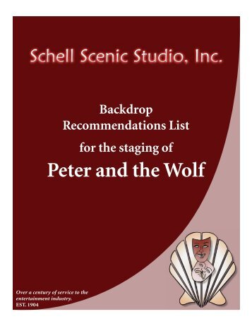 Peter and the Wolf - Schell Scenic Studio, Inc.