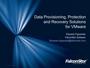 FalconStor for Miami VMUG.pdf - VMware Communities