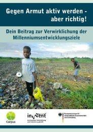 Gegen Armut aktiv werden - aber richtig - Cottbus