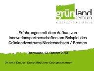 Präsentation - Hochschule für nachhaltige Entwicklung Eberswalde