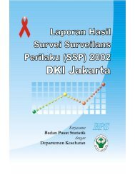 iii Laporan Hasil SSP 2002 – DKI Jakarta - Komunitas AIDS Indonesia