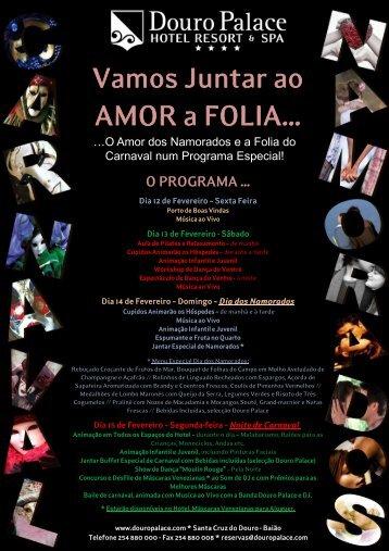 carnaval & namorados - Douro Palace