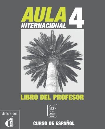 Aula internacional 4 - Libro del profesor - PDF descarga - Difusión