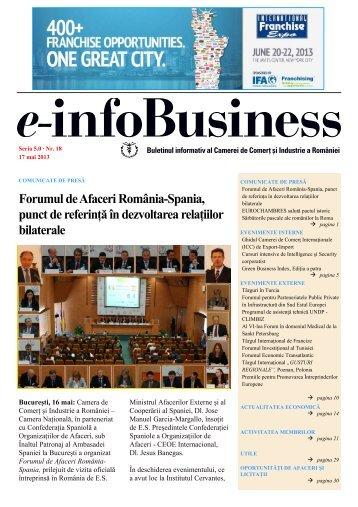 No 18 din 17 mai - Camera de Comert si Industrie a Romaniei