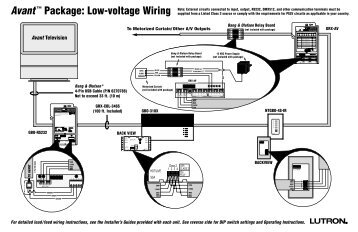 avanta package low voltage wiring lutron?quality=85 045 101 12a qed wiring guide lutron lutron qed wiring diagram at readyjetset.co